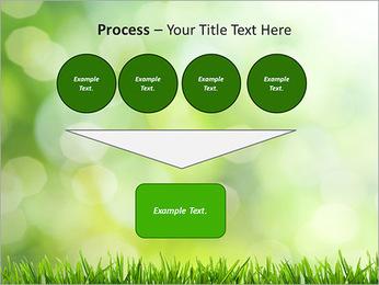 L'herbe verte fraîche Modèles des présentations  PowerPoint - Diapositives 73