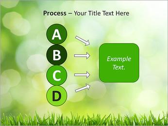 L'herbe verte fraîche Modèles des présentations  PowerPoint - Diapositives 74
