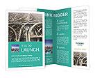 Roads In Big City Brochure Templates