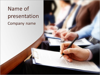 Final Exam PowerPoint Template