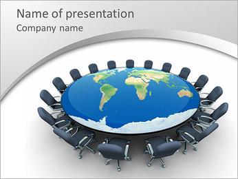 Sala de reuniones Plantillas de Presentaciones PowerPoint