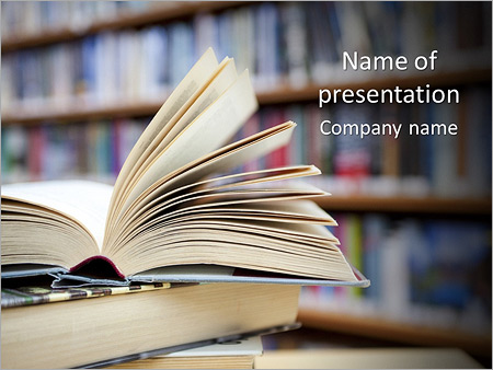 Book from library powerpoint template backgrounds id 0000004932 book from library powerpoint templates toneelgroepblik Image collections