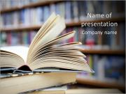 Book From Library PowerPoint Templates