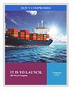 Cargo Ship Word Templates