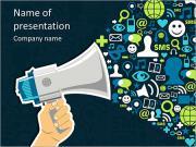 Haut-parleur Modèles des présentations  PowerPoint