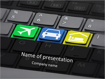 Means Of Transportation PowerPoint Template