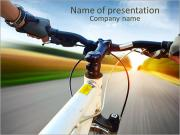 Bicycle Drive PowerPoint Templates