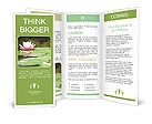 Lotus Flower Brochure Templates