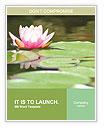 Lotus Flower Word Templates