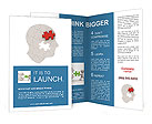 Puzzle Human Head Brochure Templates
