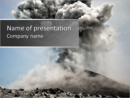 Vulcan explosion powerpoint template backgrounds id 0000004969 vulcan explosion powerpoint templates toneelgroepblik Gallery