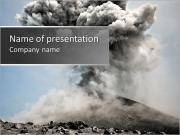 Vulcan Explosion PowerPoint Templates