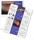 Volcanic rock Newsletter Template