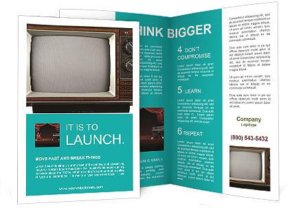 Retro Brochure Template | Retro Tv Brochure Template Design Id 0000004978 Smiletemplates Com