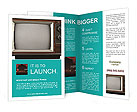 Retro TV Brochure Templates