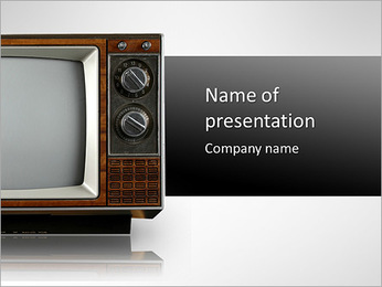 Retro TV PowerPoint Template