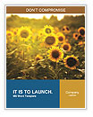 Sunflowers In The Orchard Word Templates