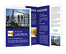 Building In Process Brochure Templates