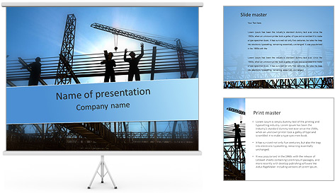 Construir In Process Modelos de apresentações PowerPoint