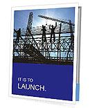 Building In Process Folhetos de apresentação