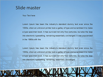 Construir In Process Modelos de apresentações PowerPoint - Slide 2