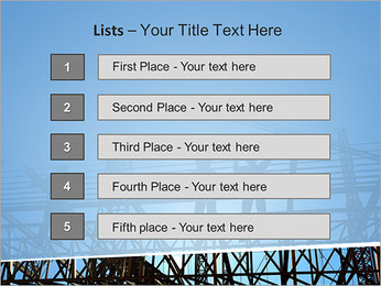 Construir In Process Modelos de apresentações PowerPoint - Slide 3