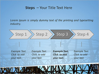 Construir In Process Modelos de apresentações PowerPoint - Slide 4
