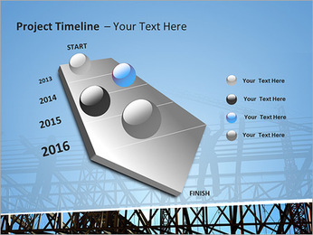 Construir In Process Modelos de apresentações PowerPoint - Slide 6