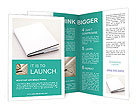 White Business Notebook Brochure Templates