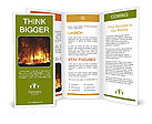 Forest In Fire Brochure Templates
