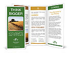 Wheat Harvest Collection Brochure Templates