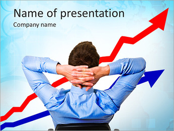 Financial Growth PowerPoint Template