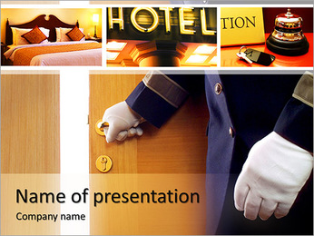 Hotel Services PowerPoint Template