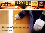 Hotelové služby PowerPoint šablony