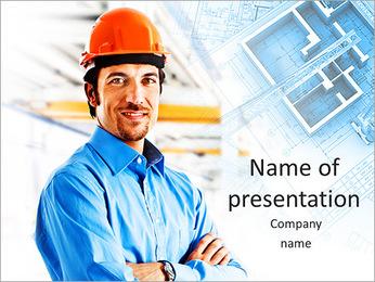 Construtor Profissional Modelos de apresentações PowerPoint - Slide 1