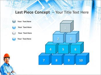 Construtor Profissional Modelos de apresentações PowerPoint - Slide 11