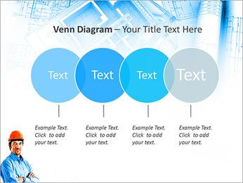 Construtor Profissional Modelos de apresentações PowerPoint - Slide 12