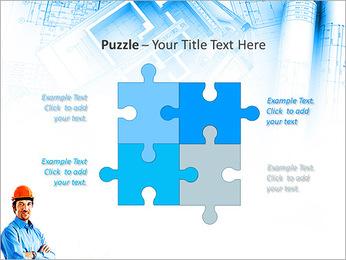 Construtor Profissional Modelos de apresentações PowerPoint - Slide 23