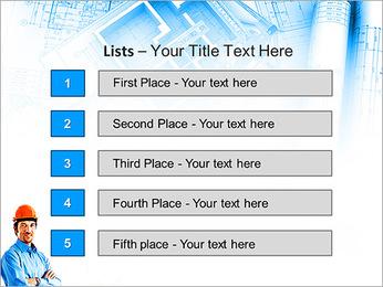 Construtor Profissional Modelos de apresentações PowerPoint - Slide 3