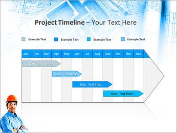 Construtor Profissional Modelos de apresentações PowerPoint - Slide 5