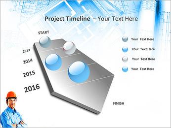 Construtor Profissional Modelos de apresentações PowerPoint - Slide 6