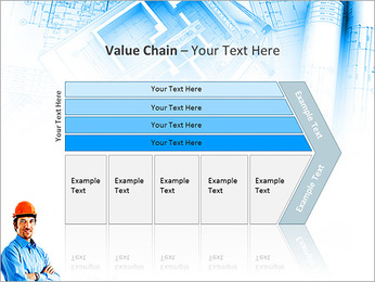Construtor Profissional Modelos de apresentações PowerPoint - Slide 7