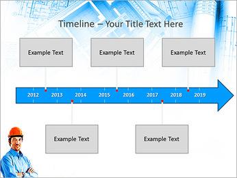 Construtor Profissional Modelos de apresentações PowerPoint - Slide 8