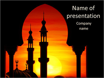 Mosque PowerPoint Template