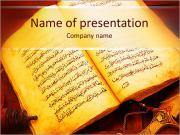 Coran Modelos de apresentações PowerPoint