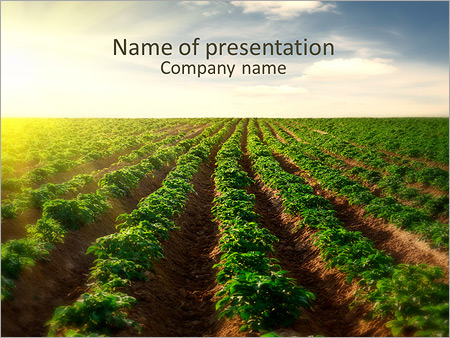 Farming powerpoint template backgrounds id 0000005050 farming powerpoint template toneelgroepblik Images