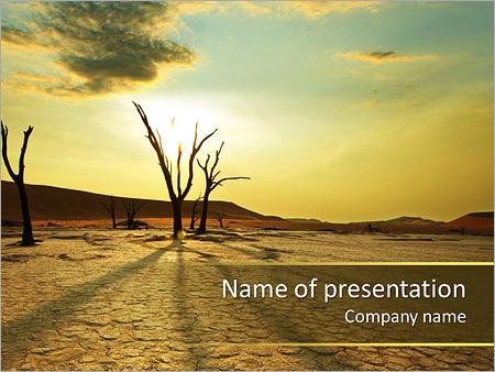 193rea del desierto plantillas de presentaciones powerpoint