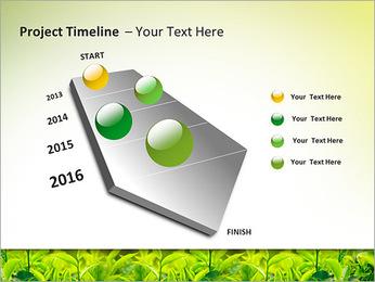 Plantes en plein soleil Modèles des présentations  PowerPoint - Diapositives 6