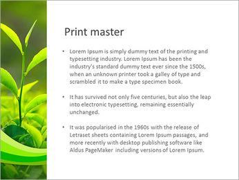 Plantes en plein soleil Modèles des présentations  PowerPoint - Diapositives 76