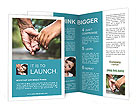 Holding Hands Brochure Template